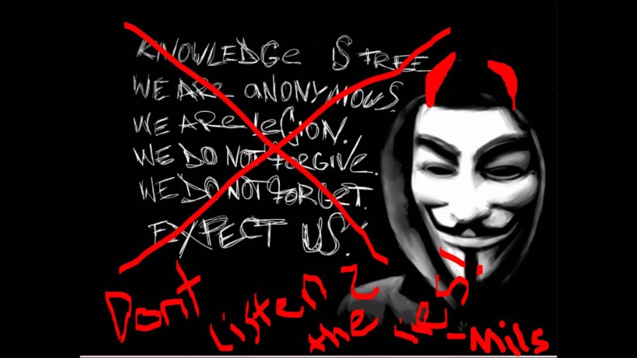 Anti Anonymous. Anti illuminati. - YouTube