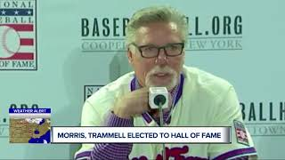 Jack Morris, Alan Trammell elected to Baseball Hall of Fame