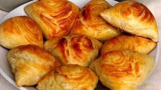 Слоёные самсы с курицой в духовке(Приготовление узбекской самсы. В этом видео вы пошагово узнаете как быстро и вкусно приготовить (сделать)..., 2016-01-11T04:32:17.000Z)