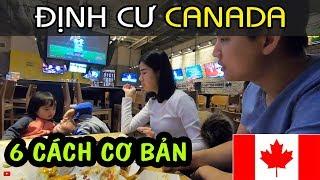 ĐỊNH CƯ CANADA #7: CÁC CÁCH ĐỊNH CƯ CANADA CƠ BẢN CHO NGƯỜI VIỆT NAM