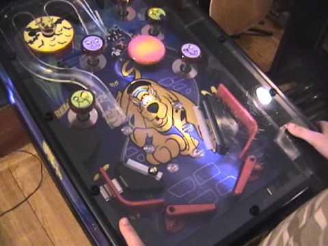 Star Wars Pinball Machine >> Scooby Doo Pinball Machine - YouTube