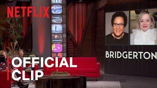 Bridgerton Costume Secrets With Nicola Coughlan and Golda Rosheuvel   The Netflix Afterparty