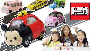 多美小汽車玩具 恐龍當家小貨車 KITTY車