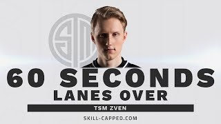 Zven wins lane at level 1 using one simple idea.