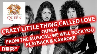 Crazy little thing called love | QUEEN | Karaoke & Playback & Backing track | Musical
