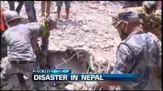 Nepal: Rescuers Pull Man Trapped for 80 Hours in Rubble