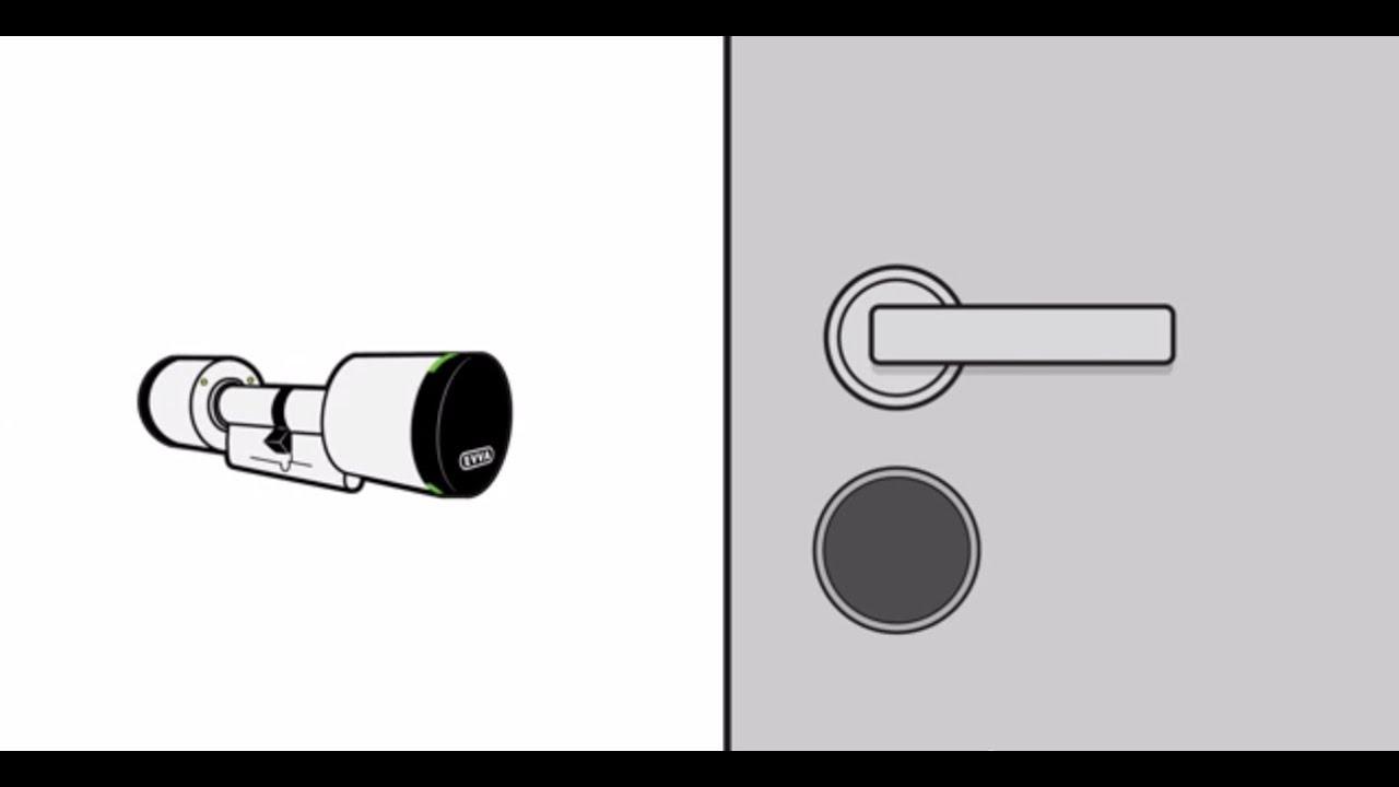 Elektronische Türschloss das elektronische türschloss evva airkey