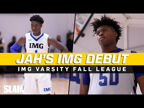 Jahzare Jackson Makes IMG DEBUT! 7-FOOT FRESHMAN 😈