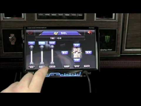 Pyle 7 Inch dvd player bumpin my subs - YouTube