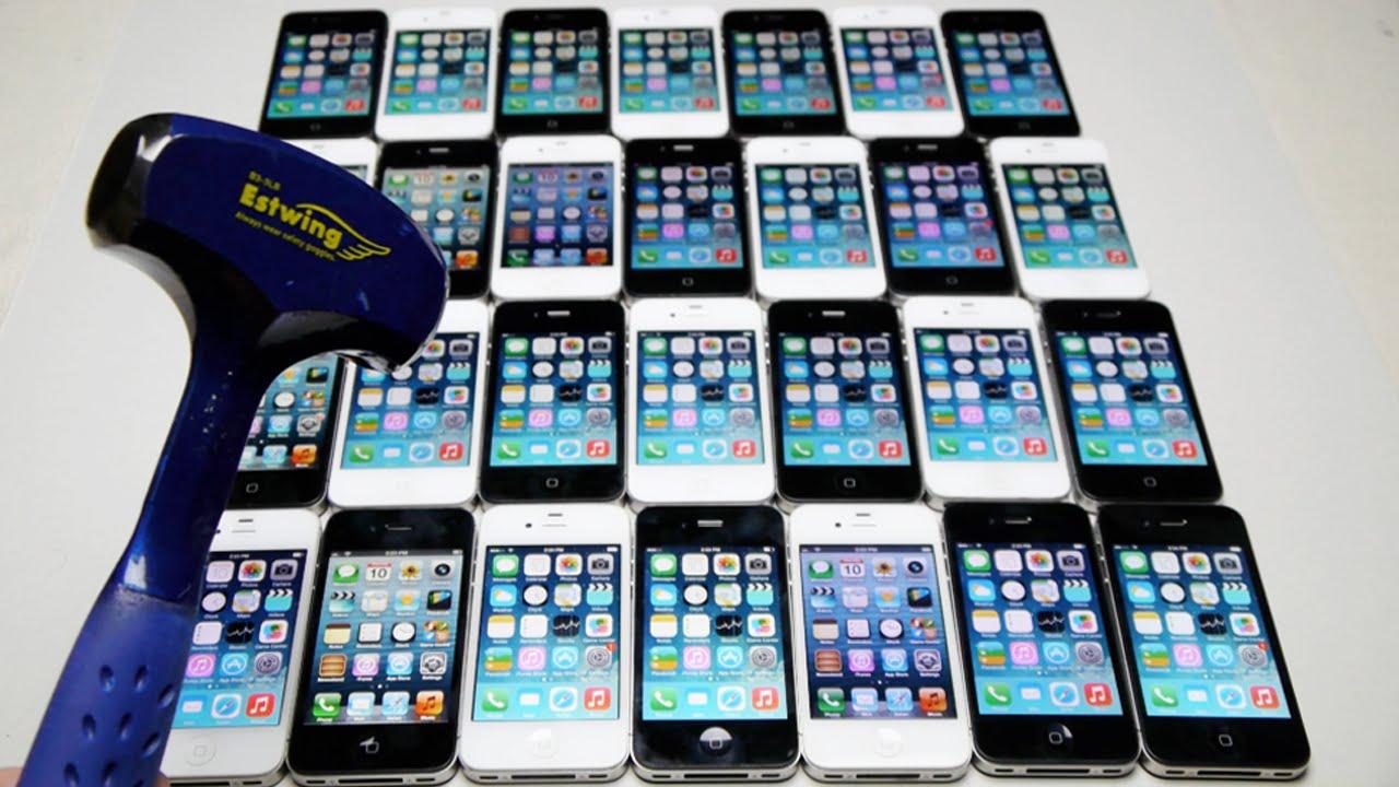 Smashing 30 iPhone's w...