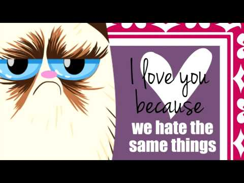 Grumpy Cat Valentines   YouTube