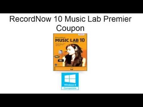 RecordNow 10 Music Lab Premier Coupon - GET $20 OFF