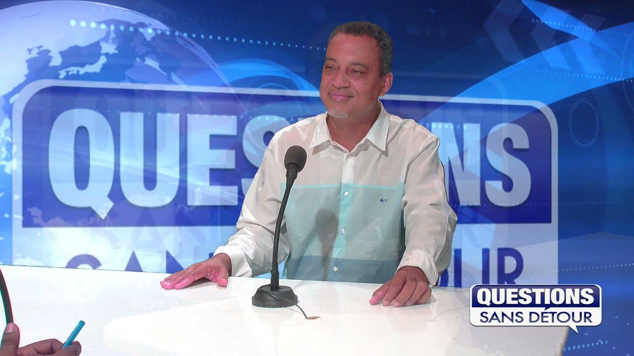 JOCELYN SAPOTILE PRESIDENT DES MAIRES DE GUADELOUPE est l'invité de QSD sur ETV