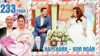 The man is in requited love with lady who is twice his weight|Hai Thanh-Kim Ngan|VCS #233