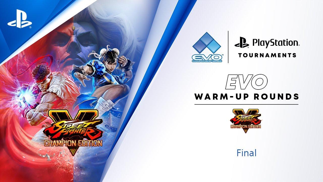 Download Street Fighter V : NA Finals : EVO 2021 Online Warm-Up : PlayStation Tournaments