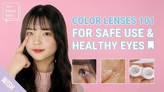 How to Apply Contacts Lenses for Beginners | 4 Tips on Finding the Perfect Color Lenses for My Eyes screenshot 2