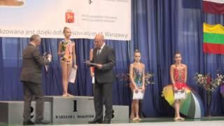 Award ceremony «IRINA-CUP» Warsaw, Poland