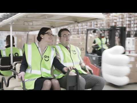 ao.com (Appliances Online) TV Advert : Same day delivery is now available - Dave's First Day