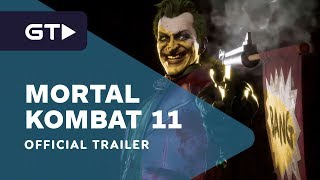 Mortal Kombat 11 - The Joker Official Gameplay Trailer