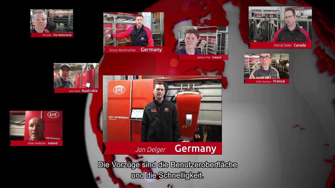 Lely Astronaut A5 – Ein Jahr Erfahrungen – video 2 (DE)