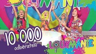 Lollymánie - 10 000 odběratelů!