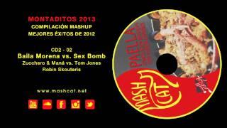 Paella 2013 02 Robin Skouteris - Zucchero & Maná vs. Tom Jones - Baila Morena vs. Sex Bomb