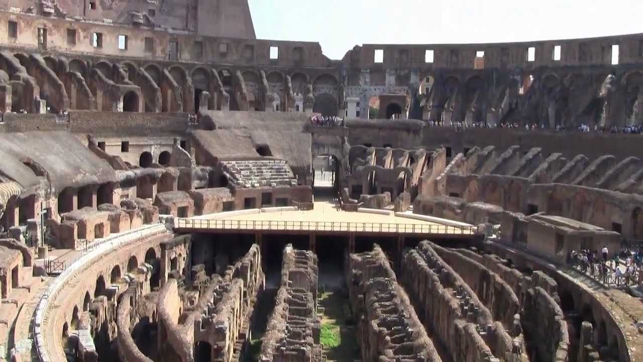 Inside Rome Italy Colosseum And Ancient City