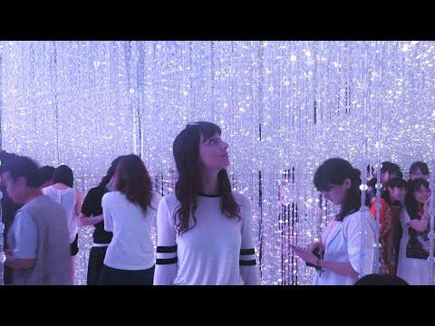 TOKYO'S MOST BEAUTIFUL LIGHT SHOW! // Vlog!