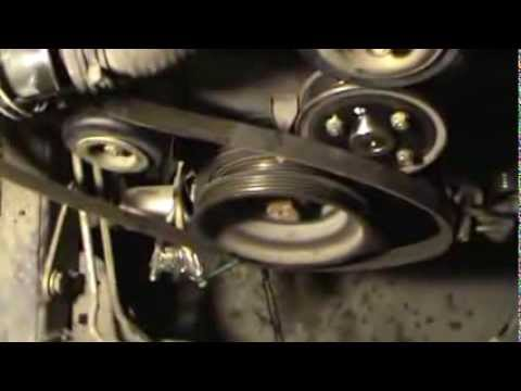 Remove Drive Belts 2004 Nissan Xterra 3 3L V6
