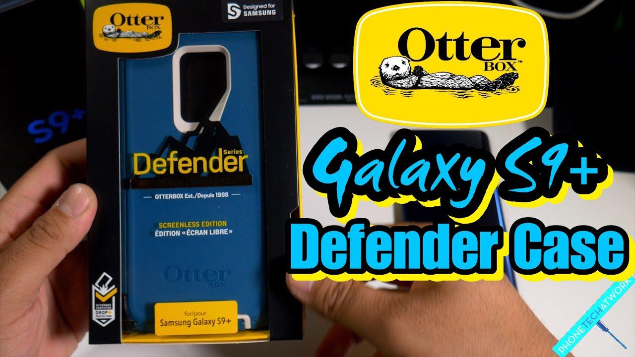 sale retailer 49bcb 458a6 Samsung Galaxy S9 Plus Otterbox Defender Case! Heavy Duty Protection!