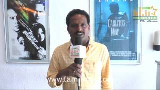 Director Ponram At Rajinimurugan Movie Press Show