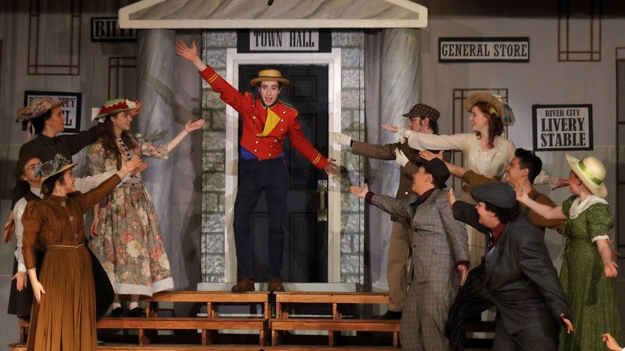 Sdss S Musical Theatre Production Of The Music Man Youtube