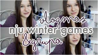 VLOGMAS, NJU WINTER GAMES & GRUPA FB   VLOG INFORMACYJNY