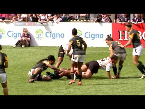 South Africa vs Papua New Guinea -  World Rugby Women's Sevens Series Qualifiers