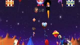 Nintendo Wii Video Mini Game Demo of CIRCUS GAMES -  Balloon Burst