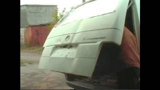 Volkswagen T 4 . Avto tana do'konlari .