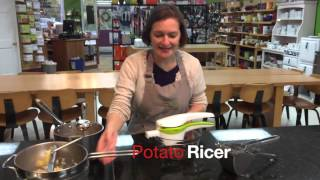 Tool Time: Food Mill and Potato Ricers for Creamy Smooth Mashed Potatoes