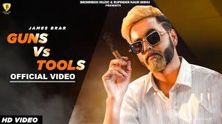 gun-vs-tools-james-brar-ryder-latest-punjabi-songs-2020-brown-box-muzic