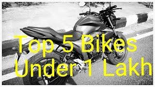 Top 5 bikes under 1 lakh