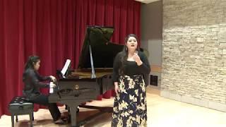 Emily Michiko Jensen, soprano - Porgi amor (Mozart)