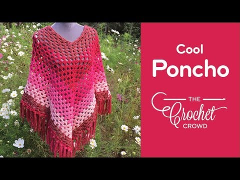 Crocheting Youtube Videos : How To Crochet A Poncho: Cool Poncho - YouTube