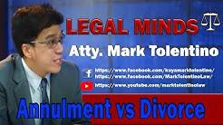LM: Annulment vs Divorce