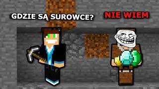 WYKOPAŁEM MU WSZYSTKO - Minecraft  /w Vertez