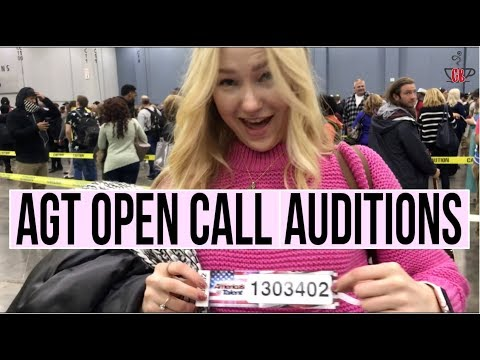 AGT 2017 OPEN CALL AUDITION | VLOG