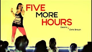 Karina Rocha DANCE LIVE CLASS - Deorro x Chris Brown - FIVE MORE HOURS.mp3