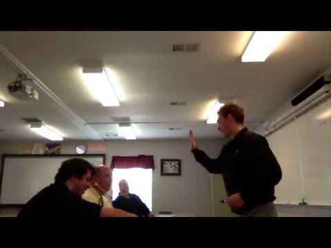 Boss Man's Brainstorm and Business Meeting