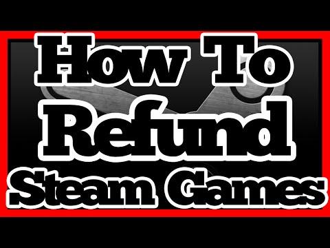 Steam Tutorial: How To Refund Games (2018 Still Works!)