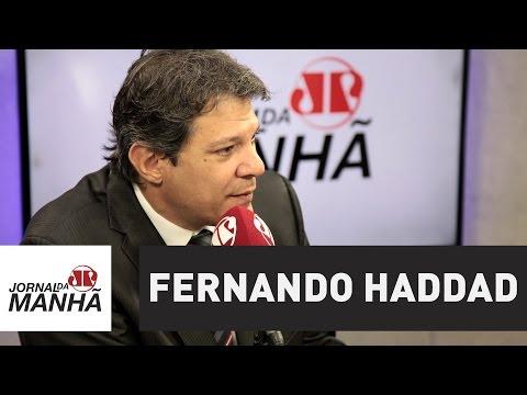 """Haddad se diz """"bastante tranquilo"""" com legado que deixa para SP   Jornal"""