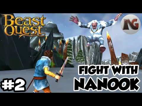 EPIC FIGHT WITH THIS YETI   BEAST QUEST GAMEPLAY. [#2]  