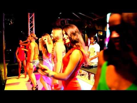 Full Moon party, Paradise Beach, Phuket. Mix by Nick Mateshik Saxophone